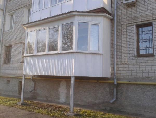Вынос балкона строительство и ремонт домов, современный диза.